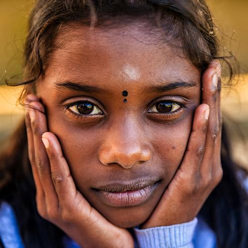 South Asian girl